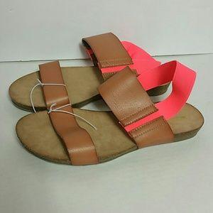 Merona NWOT Size 8 Cork  sandals